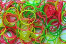 Fluorescent Rubber Band 3/4""