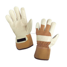 Pile Lined Full Grain Leather Glove /best quality by taidoc