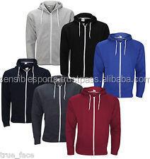 Custom Slim fitted Hoodies for Men, Custom Plain Hoodies with side zip