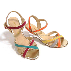 Reliable and High quality 2014 new flat sandals lady shoes for fashion use small lot order available