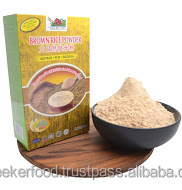 Instant Brown Rice Powder - 500gm In Box Packaging, Excellent Baby Food, No Added Sugar Health Food