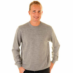 Thick for winter Crew neck cashmere men sweater