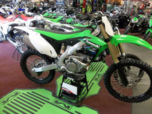 KX250F KX250 F Motocross Off-Road Lime Green