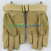 Police Tactical Gloves Factory Pilot Glove Full-grain Leather Gloves