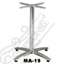 Cross Cast Iron Assembled Table Legs