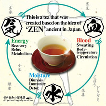 Healthy and High quality zen tea for health and make a strong Blood vessel