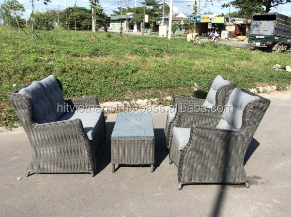 Nice collection of wicker sofa set furniture wicker sofa for Outdoor furniture vietnam