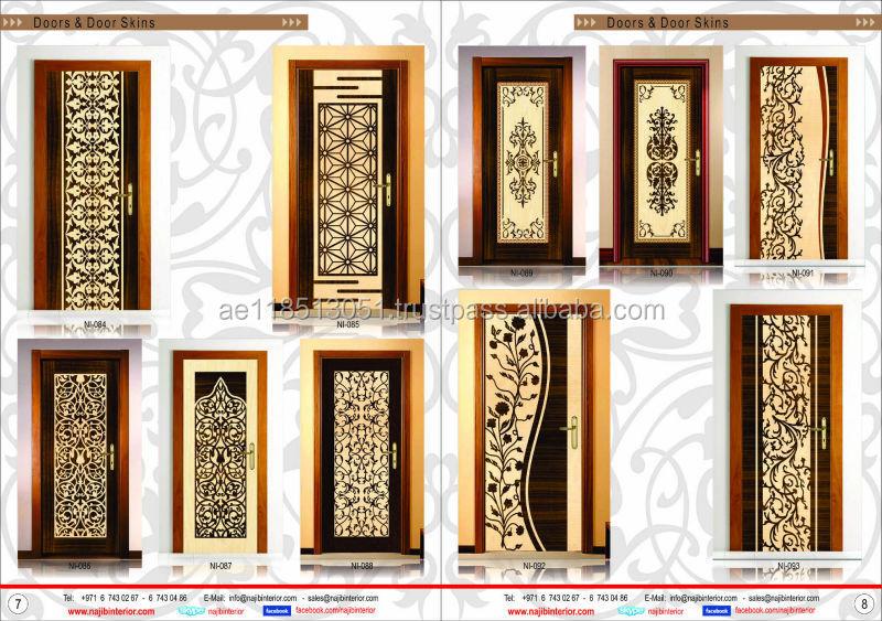 Interior veneer design doors by najib interiorni 086 buy for Main door design catalogue
