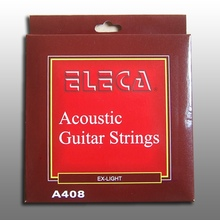 Eleca Acoustic Guitar String, 11 Gauge Extra Light, Coated Phosphor Bronze