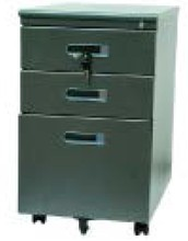 Office Furnitures Mobile Pedestal , Filing Cabinet More Affordable