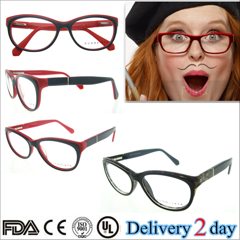 High End Women s Eyeglass Frames : Wholesale Latest popular cat eye frame eyeglasses eyewear ...
