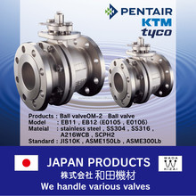 easy PENTAIR(KTM , tyco) Ball valve for industrial use