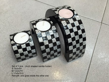 Mother of pearl candle holders, made in Vietnam- http://lacquerhomevn.com/