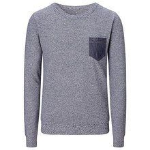 V-neck Jumper fashion hand knitted wool sweaters for men