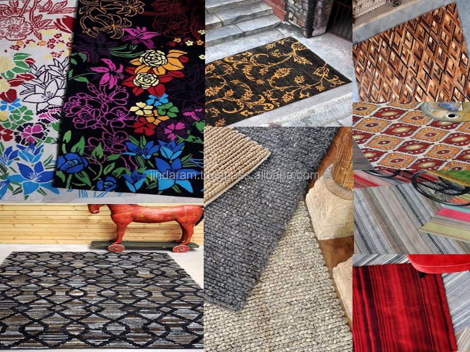 Jacquard style cotton carpets.JPG