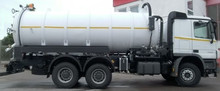 VACUUM TANK TRUCK 8.000 - 20.000 ltr. (JETTING, FLUSHING). Germany