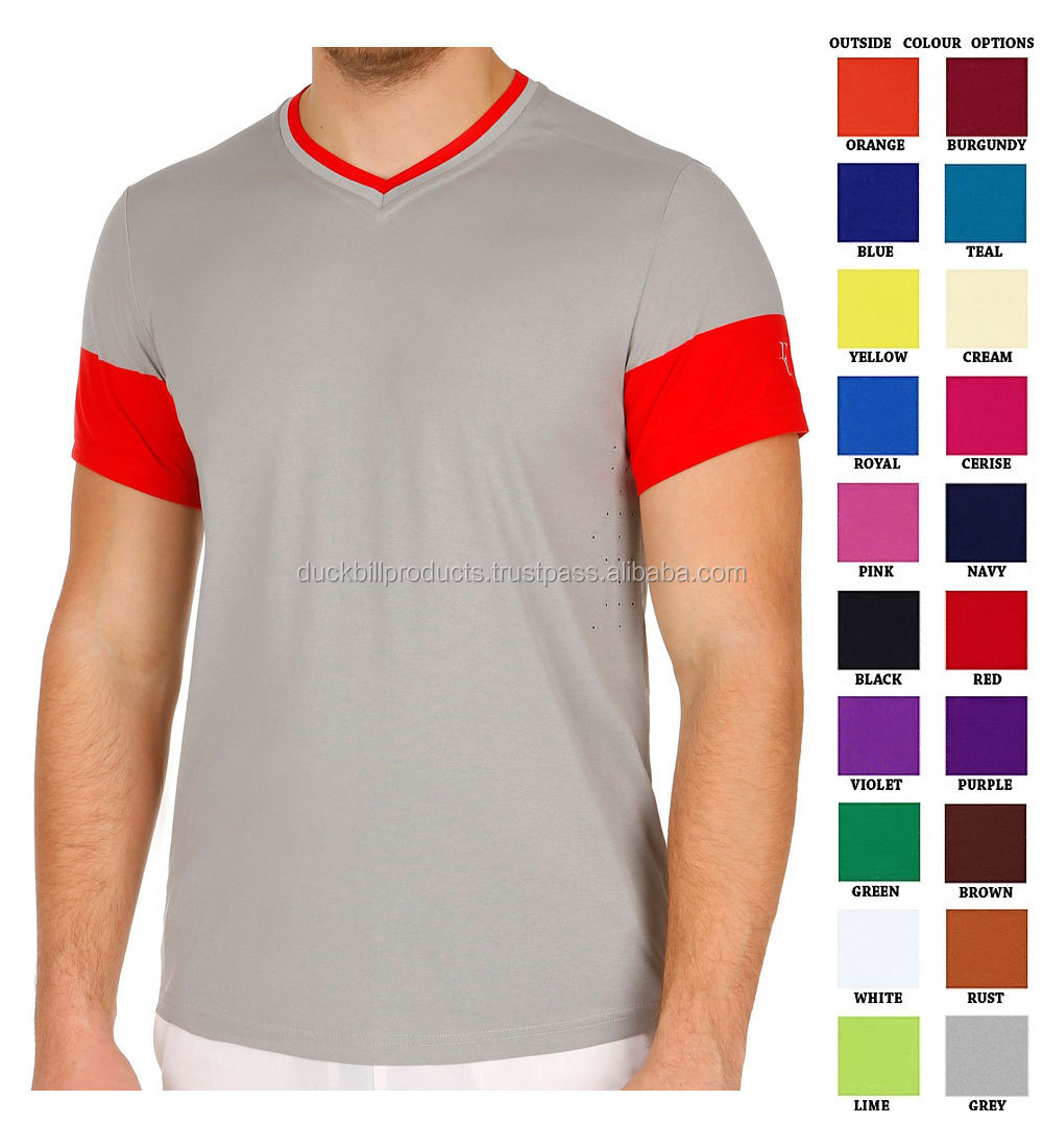 Different Color Combination T Shirt Cheap Blank T Shirts