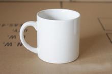 6 oz Mini Ceramic White Coffee Mug for Sublimation