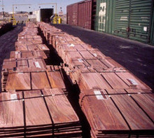 Available Stocks of Copper Cathode