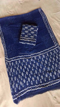 Indian Designer Bedsheet, Block Print Double Cotton Tree Bedspread