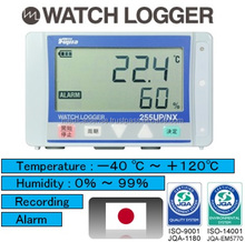 Multi-functional and accurate usb data logger with alarm to manage temperature and humidity for lorry transport, made in Japan