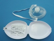 pocket mask Good price Breathing apparatus CPR CPR Pocket Mask -One way valve- O2 inlet child medical mask healthcare