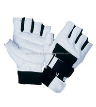 white & black color Weight lifting Gloves,power lifting gloves,