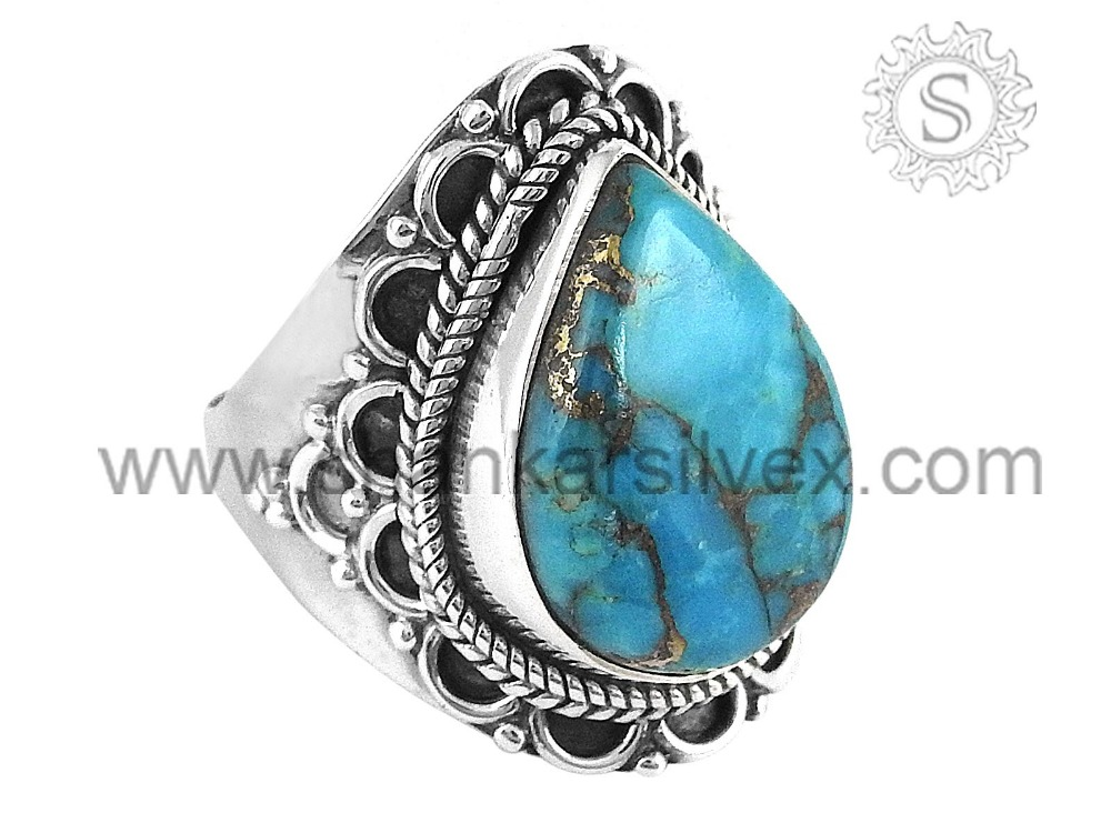 exclusive design 925 sterling silver turquoise gemstone