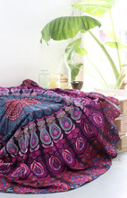 $16.99 or Best Offer 17 sold From India Item image Indian Mandala Round Roundie Beach Throw Tapestry Hippie