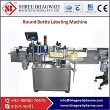 Sturdy Automatic Labeling Machine For Round Bottle