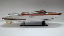 RIVA GUC-CI 87cm Wooden Model Ship For Sale (Speed Boat Model)