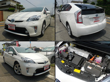 Japanese used car Toyota Prius hybrid at wholesale price