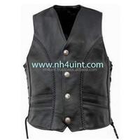 Leather Vset,Racing Vest,Spring Fashion Ladies Lapel Leather Vest Sexy Women & Men Leather Vest