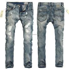 Hilo negro satén ligero denim jeans tela