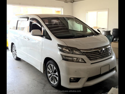 Toyota vellfire Genuine hatchback used Japanese used car brands in good condition