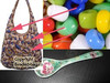 Peranakan Spoon Shoes beaded Bag and Hand Carry Hobo