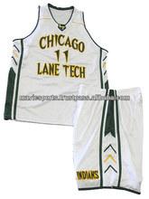 Custom Sublimated Basketball Uniform Basketball Shorts