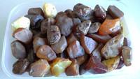 Natural selected Ukrainian raw amber
