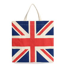 New cheap canvas handbag T-122 England style women schoolbag lady ecobag