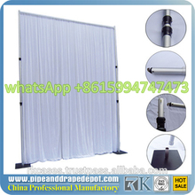 Portable Pipe and Drape Kits for Wedding and Trade Show Booths and Exhibition