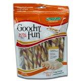 Hide Good 'n' Fun 22-Pack Triple Flavor Chews, Twists