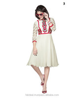 Online Indian Party Wear Tunic Tops, Designer Party Dress