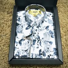 Men's Fashion slim fit 2015 Shirts Print