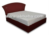Padded bed LAURA Made in Italy high quality