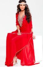 Wholesale 2015 dubai fashion kaftan/ DUBAI VERY FANCY KAFTANS abaya jalabiya Ladies Maxi Dress Wedding gown