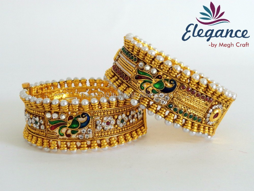 Wholesale Indian Jewelry Bangles Bollywood Fashion