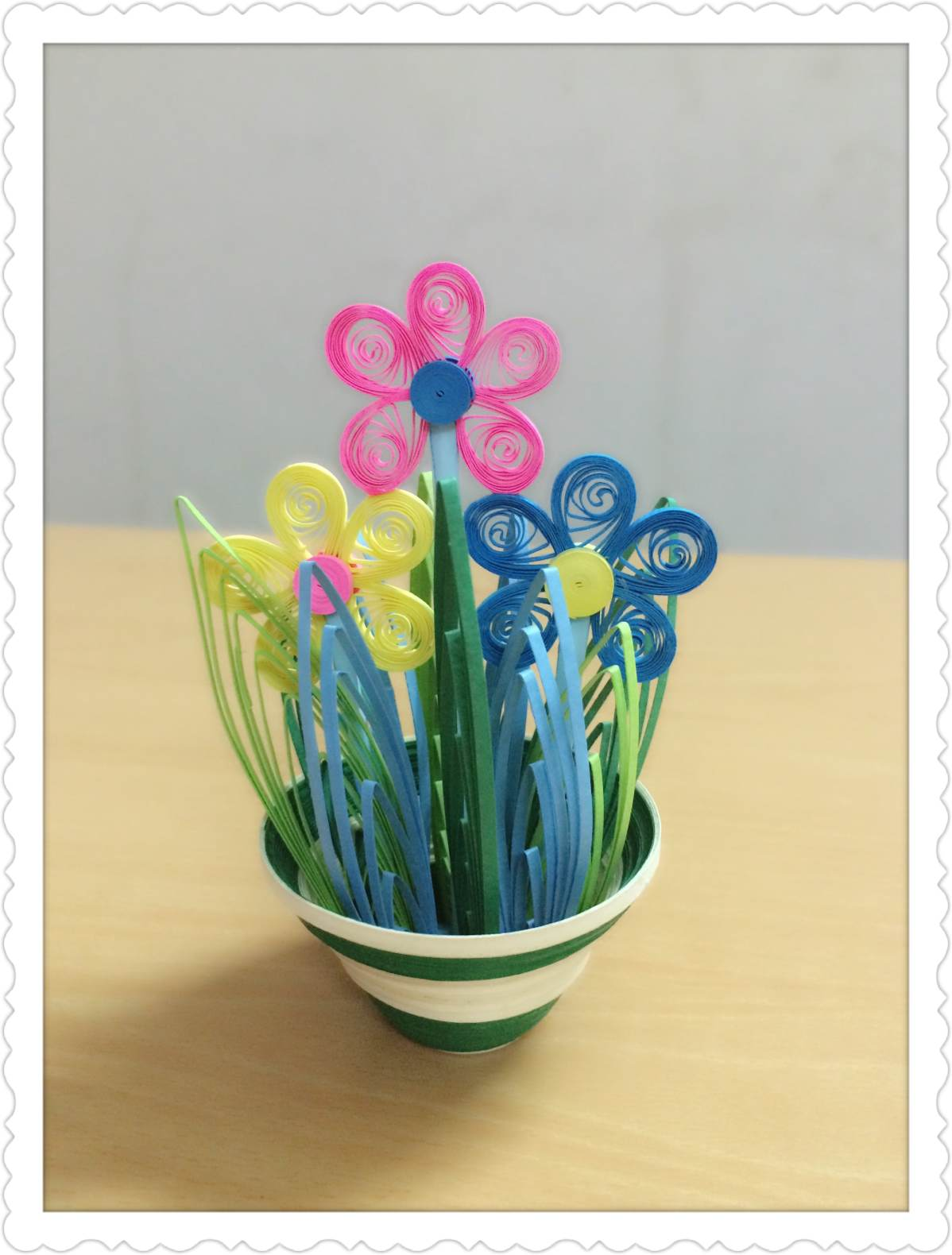 Quilling Flowers Handmade Paper Buy Paper Quilling Flower Patterns