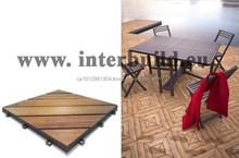 DIY Diagonal interlocking Deck Tile garden landscaping decking flooring