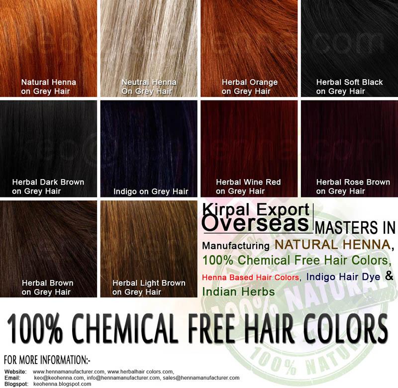 natural hair dye india