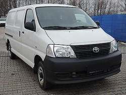 Used Toyota Hiace (long) Delivery Van - Left Hand Drive - Stock no: 12917